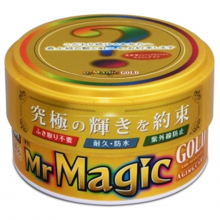"PROSTAFF CAR WAX ""Mr. MAGIC GOLD"""