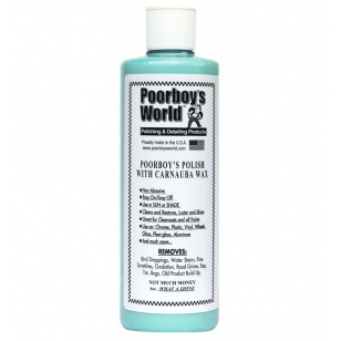Poorboy's World  Polish with Carnauba Wax Blue 473 ml
