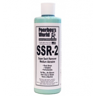 Poorboys World SSR 2 Super Swirl Remover - Medium Abrasive