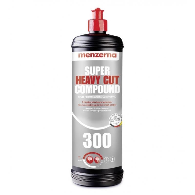 MENZERNA  SUPER HEAVY CUT COMPOUND 300 - 1 liter