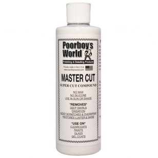 Poorboy's World Master Cut Compound 473 ml