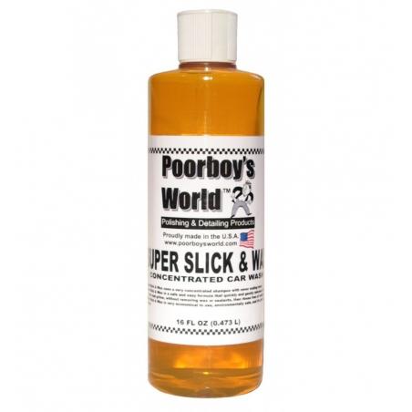Poorboys World Super Slick  & Wax Shampoo 473 ml