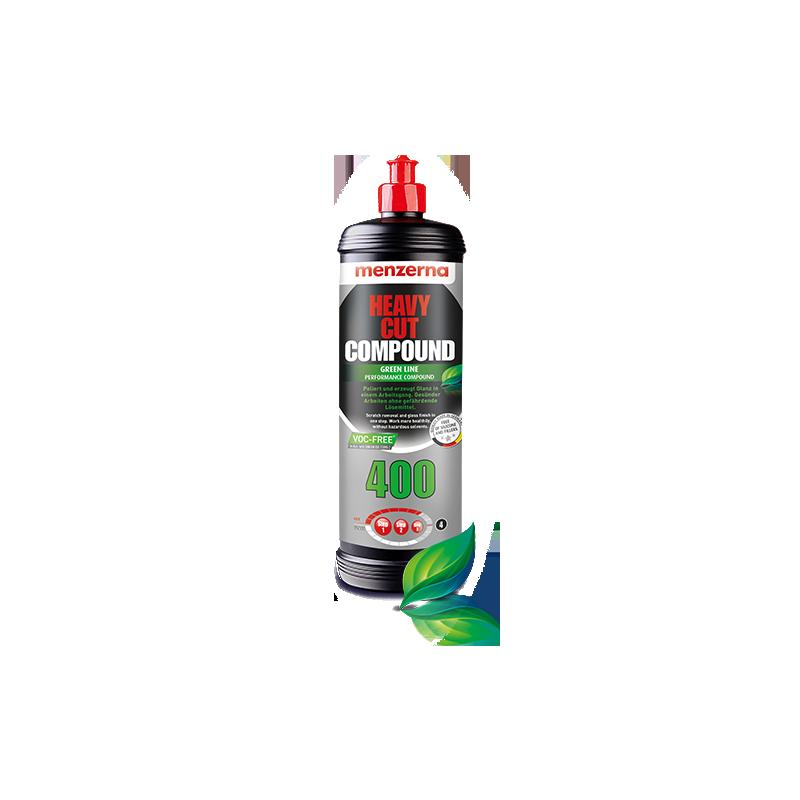 MENZERNA  HEAVY CUT COMPOUND 400 GREEN LINE - 250 ml