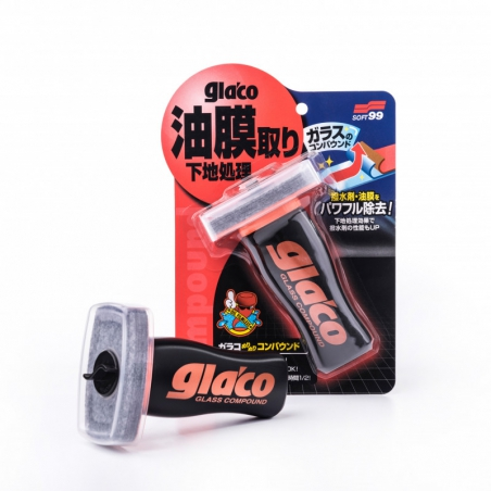 Soft99 Glaco Glass Compound Roll On 100 ml