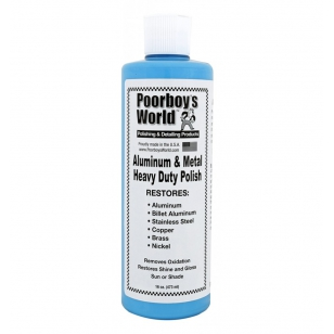 Poorboys World HD Aluminium & Metal Heavy Duty Polish 473 ml