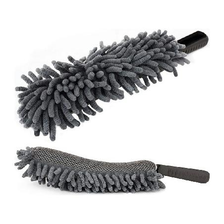 Monster Shine Microfibre Wheel Brush