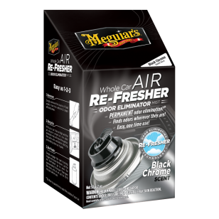 Meguiars Air Re-Freshner - Black Chrome Scent