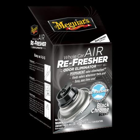 Meguiar's Air Re-Fresher Odor Eliminator - Black Chrome Scent 71 g
