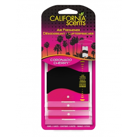 California Paper Air Freshener - Coronado Sherry 3 pack