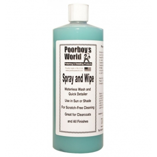 Poorboys World Spray & Wipe Waterless Wash 946ml