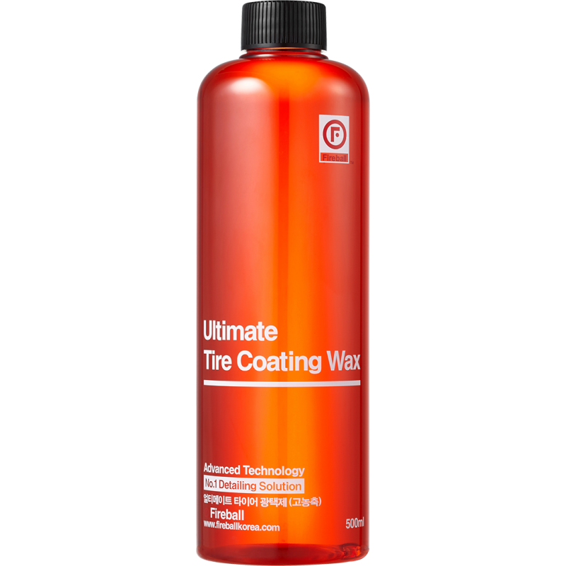 Fireball Ultimate Tire Coating Wax - Red