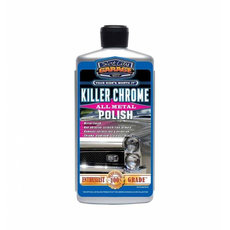 Surf City Garage Killer Chrome Perfect Polish