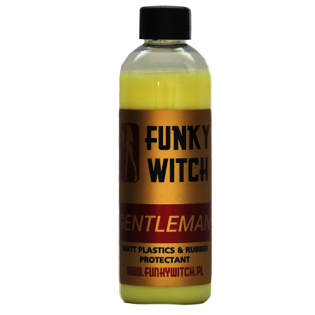 Funky Witch Gentleman Matt Plastics & Rubber Protectant 500 ml