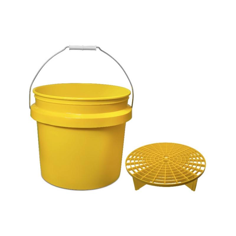 Meguiars Wash Bucket + Professional Grit Guard