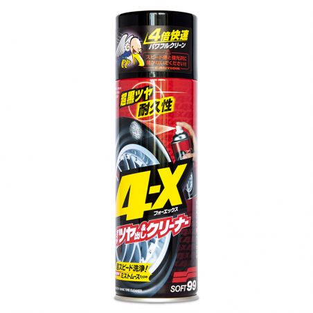 Soft99 4-X Tire Cleaner 470 ml