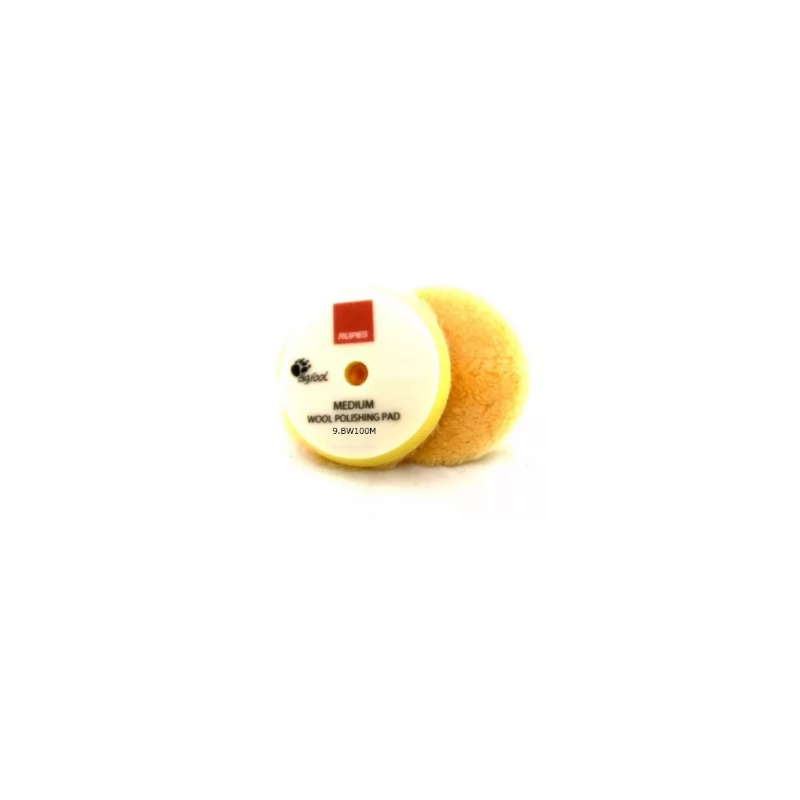 Rupesv Yellow Wool Polishing Pad Medium 130/145 mm