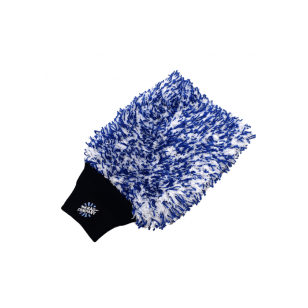 The Rag Company Cyclone Wash Mitt Blue