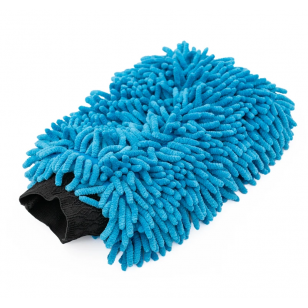 The Rag Company Knobby Wash Mitt Blue