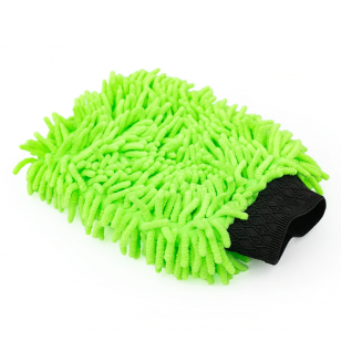 The Rag Company Knobby Wash Mitt Lime Green