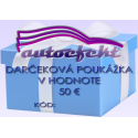 Darčeková poukážka 50 €