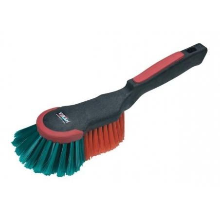 Vikan Soft Wheel Brush