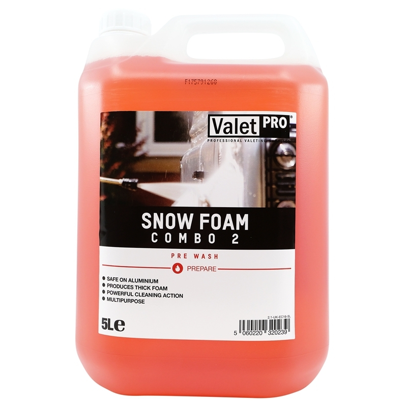 ValetPro Snow Foam Combo 2 5 L