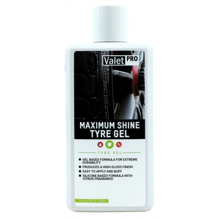 ValetPro Maximum Shine Tyre Gel 250 ml