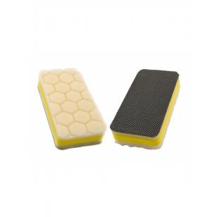 Flexipads Clay Pad Applicator White Light Polish