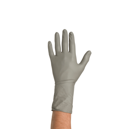Colad Disposable Nitrile Gloves XL, Grey, 50 ks