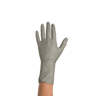 Colad Disposable Nitrile Gloves M, Grey, 50 ks