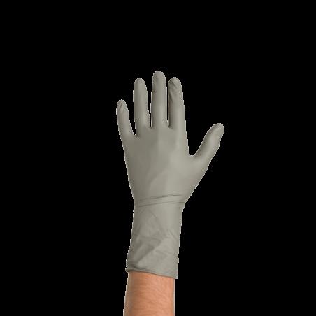 Colad Disposable Nitrile Gloves M, Grey, 50 ks