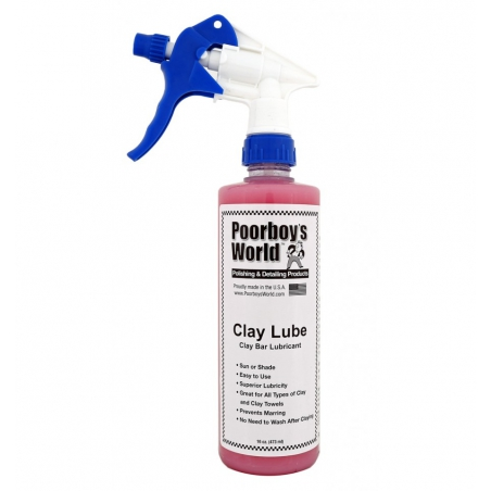 Poorboys World Clay Lube 473 ml