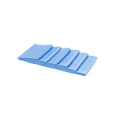 The Rag Company Blue Diamond Glass Towel 41 x 41 cm