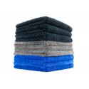 The Rag Company Spectrum 420 Dual Pile Microfiber Towel Dark Blue 41 x 41 cm