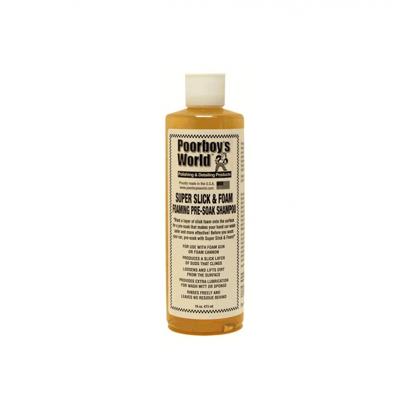 Poorboy's World Clay Suer Slick  & Foam Foaming Pre-Soak Shampoo