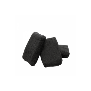 The Rag Company Microfiber Terry Detailing Sponge Applicator Black 8 x 13 cm