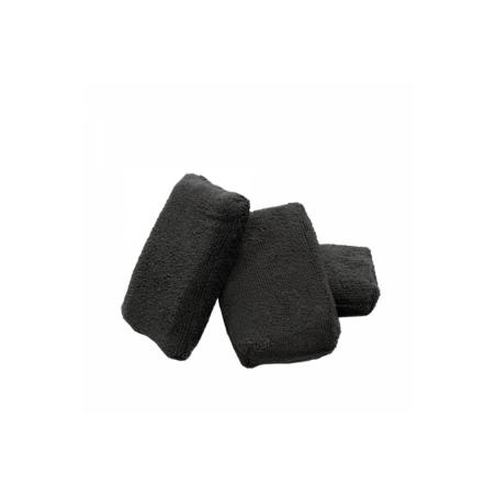 The Rag Company Microfiber Terry Detailing Sponge Applicator Black 8 x 13 cm