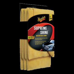 Meguiar's Supreme Shine Microfiber Towel 3 ks