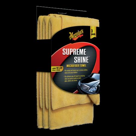 Meguiar's Supreme Shine Microfiber Towel 40 x 60 cm - 3 ks