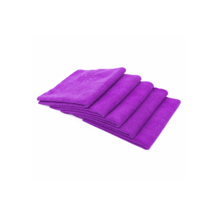 The Rag Company The Pearl Microfiber Ceramic Coating Towel 41 x 41 cm Purple