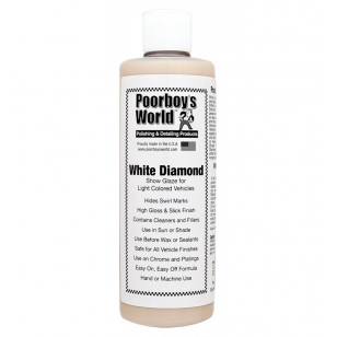 Poorboy's World White Diamond Show Glaze 473 ml