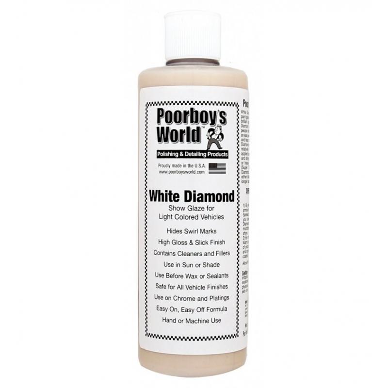 Poorboy's World White Diamond Show Glaze