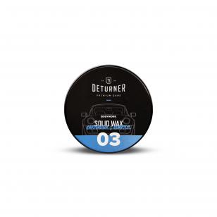 Deturner Solid Wax Carnauba & Quartz 50g