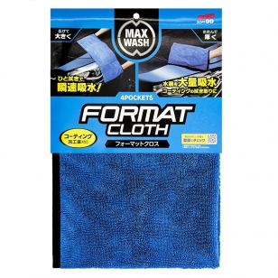 Soft99 Max Wash 4Pockets Format Cloth