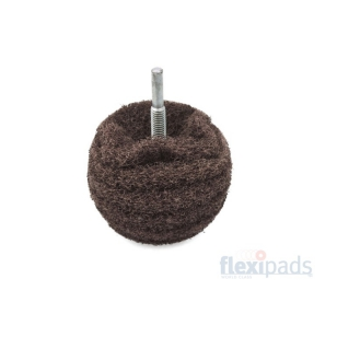 Flexipads Brown Coarse Scruff Ball 75 mm