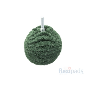 Flexipads Green Medium Scruff Ball 75 mm