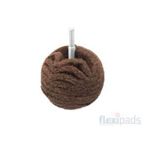 Flexipads Maroon Very Fine Scruff Ball 75 mm