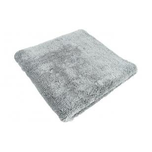Lare Microfiber Edgeless Towel Grey 380 GSM 40 x 40 cm