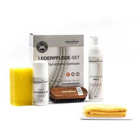 Colourlock  Leather Shield Cleaning & Conditioning Kit Soft