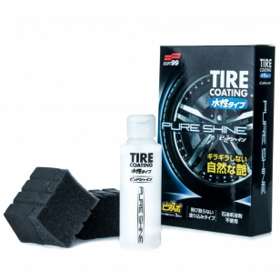Soft99 Tire Coating Pure Shine povlak na pneumatiky